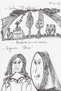 El entierro y Elena